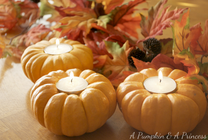 Pumpkin Tea Lights