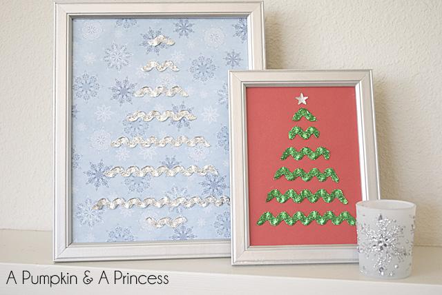 Rick Rack Christmas Trees