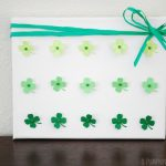 Ombre Four Leaf Clover Craft