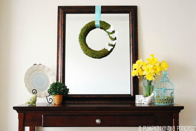 Beautiful and easy spring decor