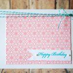 Handmade Card & Gift Tag