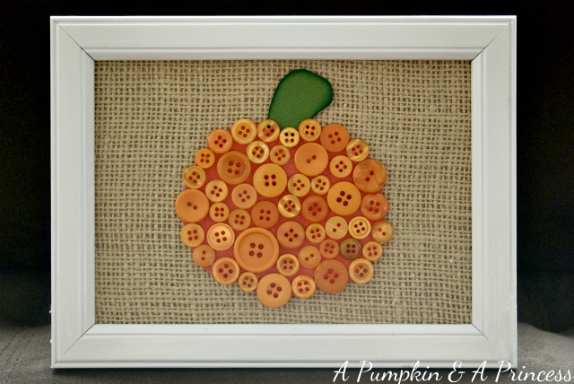 Button Pumpkin Tutorial