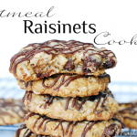 Oatmeal Raisinets Cookies