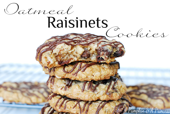 Oatmeal Raisinet Cookies Recipe — Dishmaps
