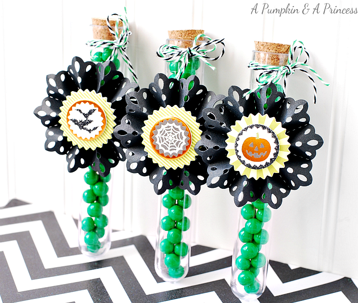 Halloween Candy Tubes