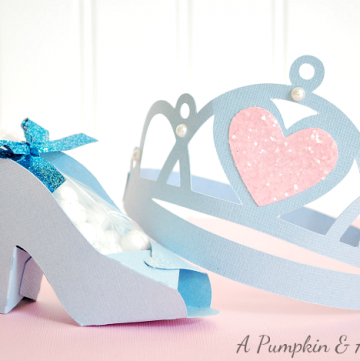 Cinderella Paper Crafts
