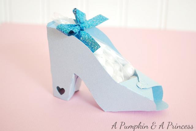 Cinderella Paper Shoe