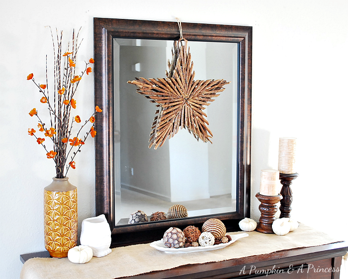Fall Decor #Vignette