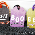 Halloween Tags and Coffin Treats