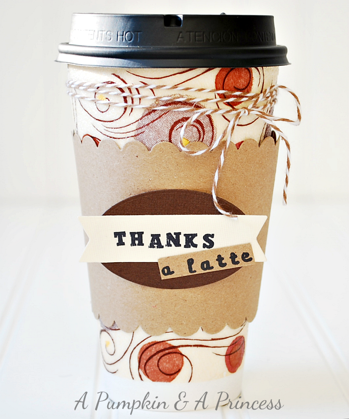 thanks a latte gift idea