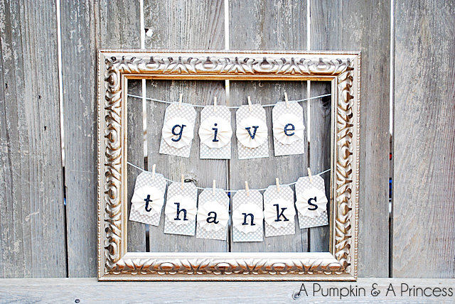 25+ Thanksgiving Decor and Craft ideas on { lilluna.com } Lots of great ideas to help inspire you!