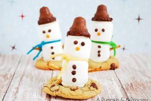 Marshmallow Snowman Treats Recipe