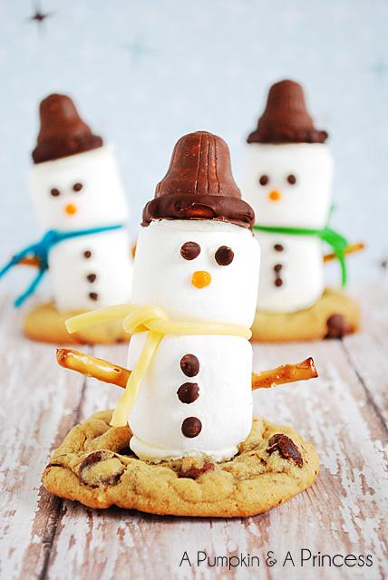 Marshmallow Snowman Treats