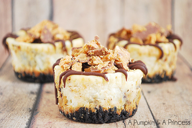 Butterfinger Cheesecakes Recipe