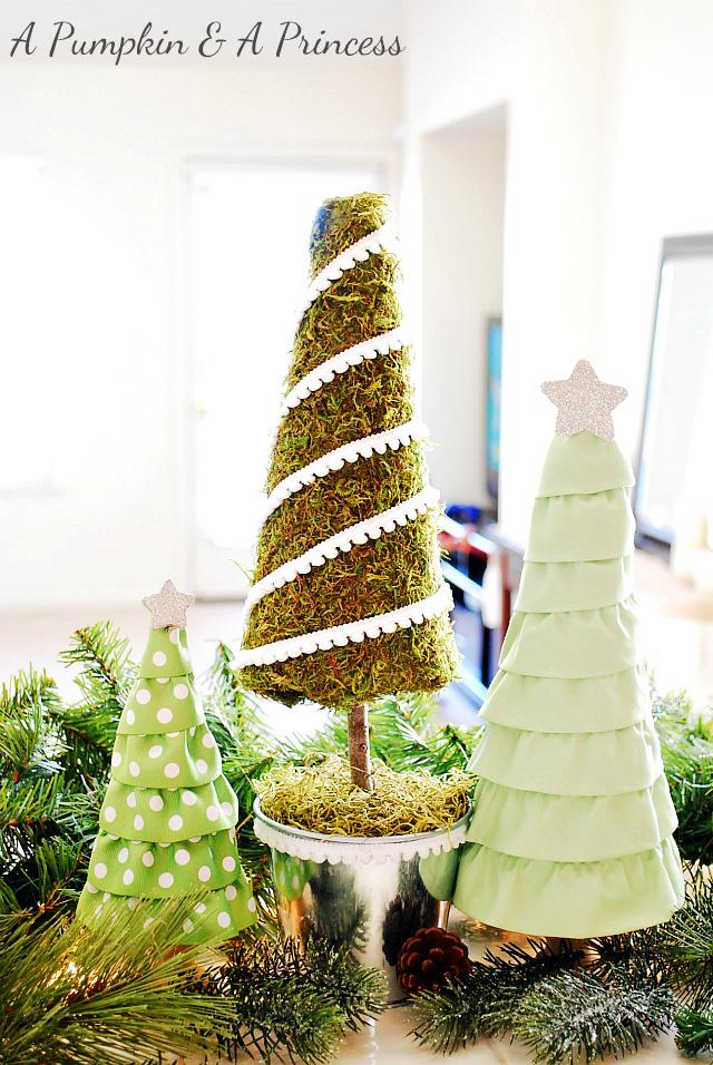 Moss Christmas Tree