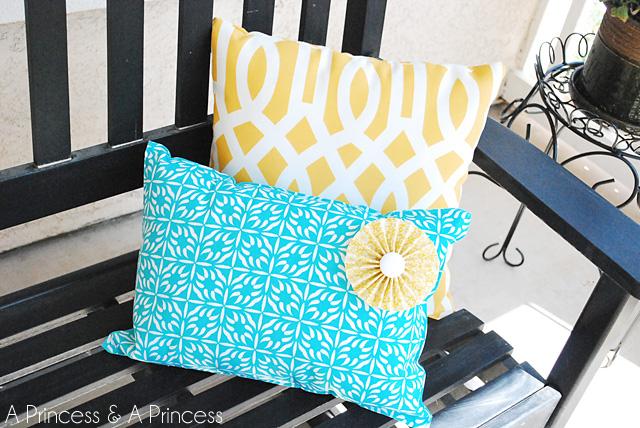 Placemat Pillow Tutorial