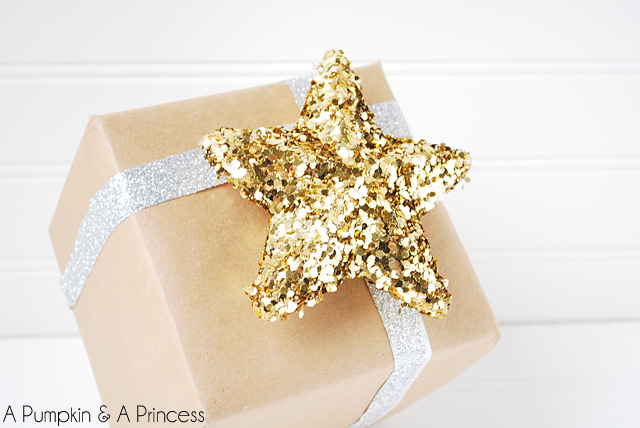 Gift wrapping on a budget