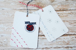 Stitched Gift Tags