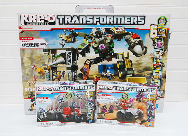 KRE-O Transformers {Toy Review}