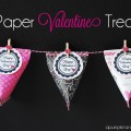 Paper Valentine Containers