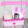 Valentine's Day Treat Ideas & S'mores Valentine Gift