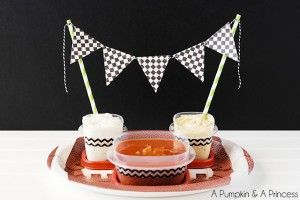 Super Bowl Party Food Displays