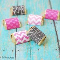 Valentine Hershey Candy Wrappers