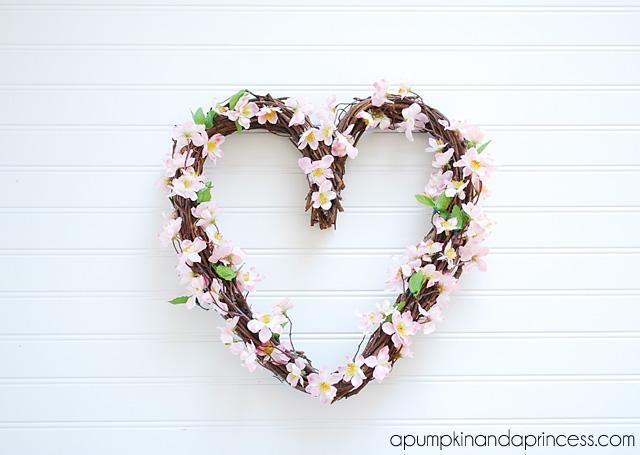 Pink Valentine's Day Wreath