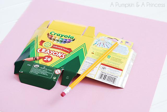 DIY Crayon Box Valentines