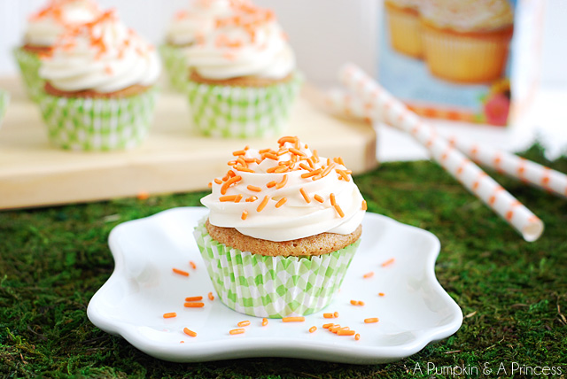 Easy Carrot Cupcakes Recipe