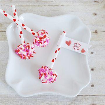 Mini Marshmallow Pops