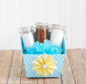 handmade spa gift