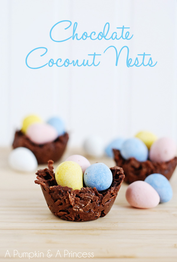how to make coconut nests