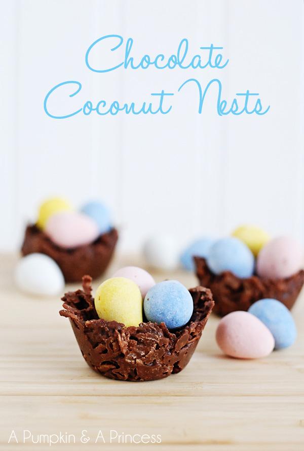 Chocolate Coconut Nests