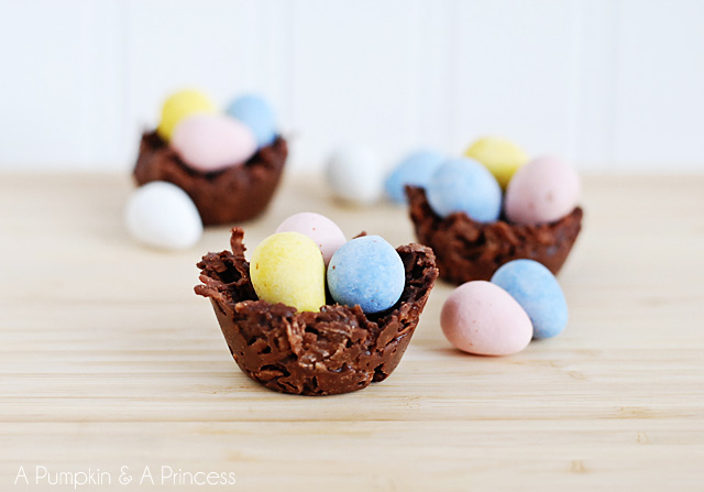 how to make coconut nests.