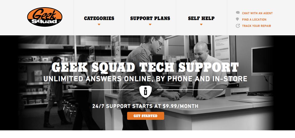 Best Buy Geek Squad Tech Support - A Pumpkin And A Princess