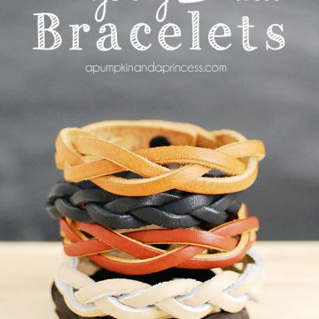 How to make a mystery braid bracelet