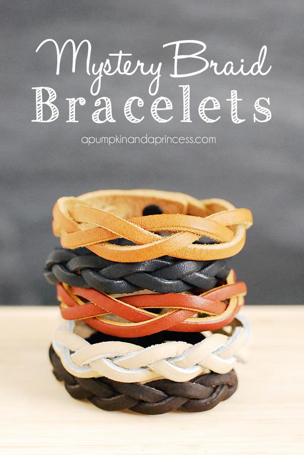 Mystery Braid Bracelet Tutorial - A Pumpkin And A Princess