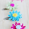 Daisy Flower Paper Clips