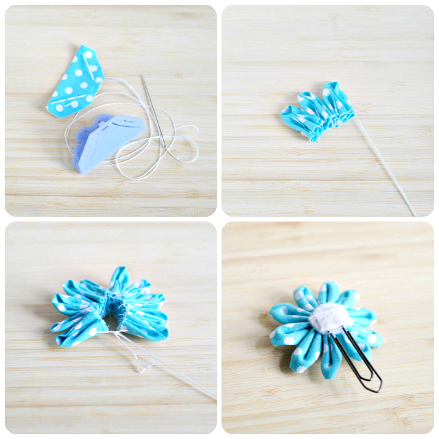 Daisy flower paper clips a pumpkin and a princess how to make flower paper clips mightylinksfo