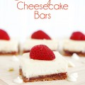 White Chocolate Strawberry Cheesecake Bars