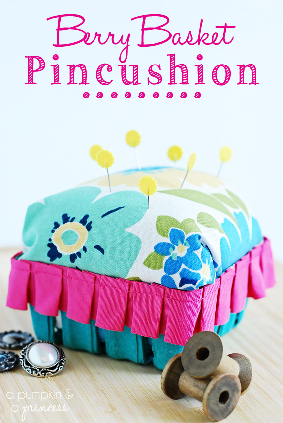 DIY pincushion tutorial