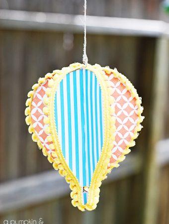 Paper Hot Air Balloon