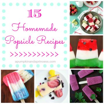 15 Popsicle Recipes