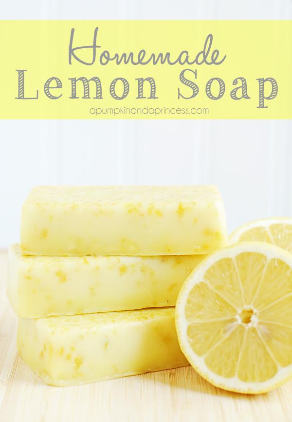 Homemade Lemon Soap Mother S Day Gift Ideas