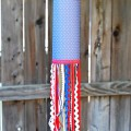 Patriotic Paper Windsock {Summer Activities for Kids}