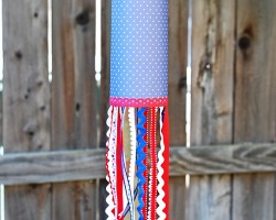 DIY Paper Windsock tutorial