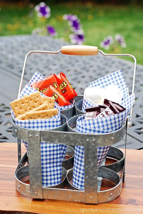 S'mores bar caddy