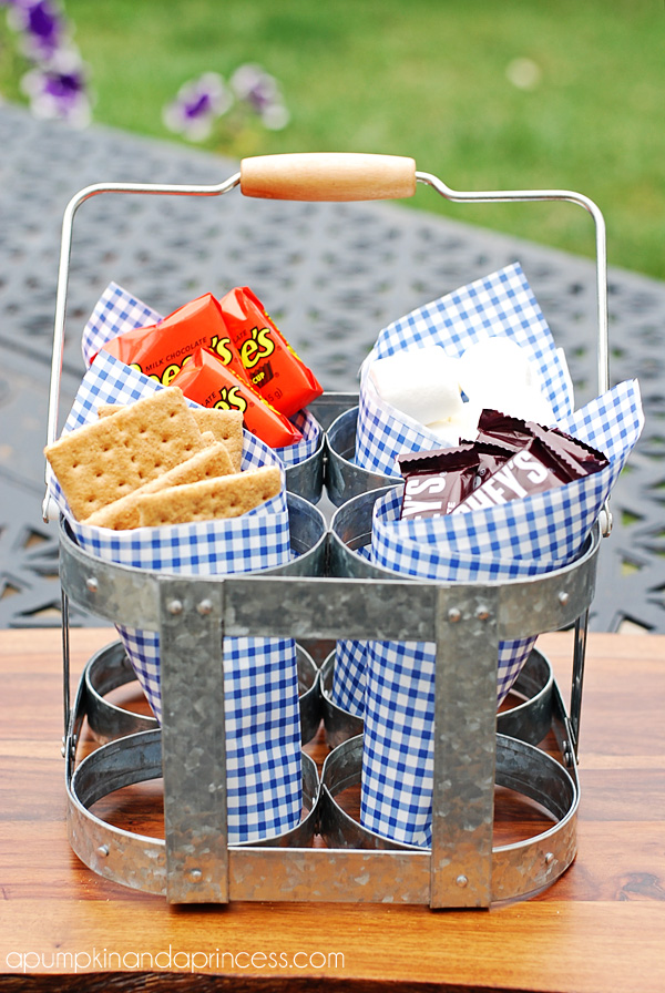 S'mores bar display ideas