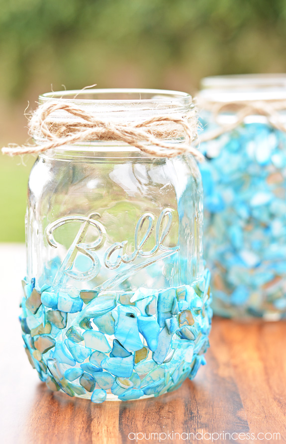 Beach mason jar for Projects to do with mason jars